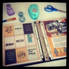 One Year of Journaling Prompts-- could use in scrapbooking or in smash books
