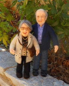 Fieltro muñeca personalizada. Precio de una muñeca hecha a