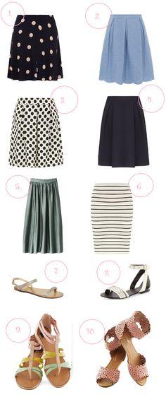 Love those skirts!