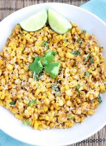 Sweet, creamy, cheesy and a little bit spicy, this Mexican street corn salad is the perfect side addition to any dinner, picnic or summertime cookout.