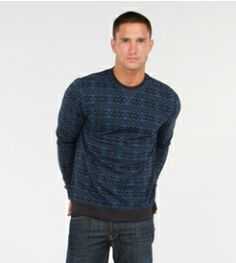 Fair isle Crew Neck - Shop sale styles perfect for this season and next! #sustainable #organic #recycled #cotton #sale