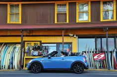 Surf's up for this MINI Roadster!