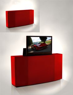 TV Lift Cabinet by Ruth Livingston on HomePortfolio