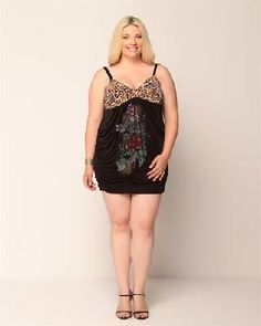 $68.50 Ed Hardy Strapless Leopard Print Ruched Dress X