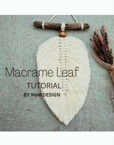 Macrame Supplies, Macrame Projects, Free Macrame Patterns, Macrame Wall Hanging Patterns, Popular Crafts, Feather Crafts, Macrame Design, Macrame Tutorial, Boho Diy