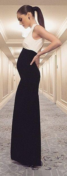 Coco Rocha Pregnancy Style