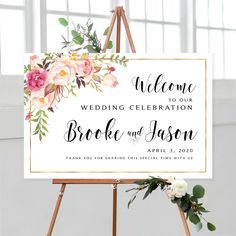 #weddingwelcomesign #welcomeweddingsign #welcomesign #weddingsign #wedding #weddingsigns #floralwelcomesign #weddingdécor #weddingposter #weddingreception #printable #sign #signs #bohowedding #boho #printable #diywedding #personalized