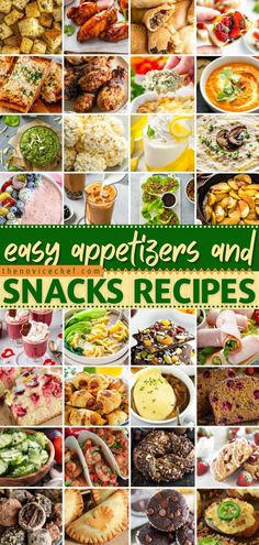 You don't want to miss out on the best appetizer recipes and snack ideas for a party! So easy and yummy, they are perfect for any occasion. Find your new favorite finger food, dip, sweet treat, and so much more! Best Appetizer Recipes, Best Appetizers, Snack Recipes, Easy Recipes, Easy Snacks, Quick Easy Meals, Healthy Snacks, Food For A Crowd, Everyday Food