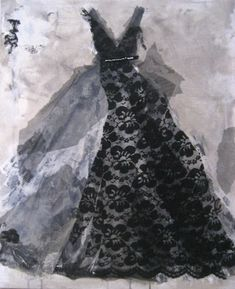 """""""Untouchable"""" Divinely fashionable art from featured artist Andrea Stajan-Ferkul. See more at www.ArtsyShark.com"""