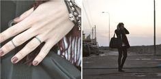 Danish blogger Simone with our popular My Precious Feather-ring