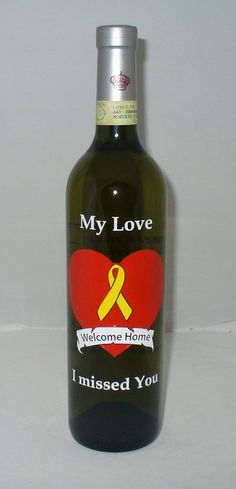Wine Bottles - Custom Etched Glass Designs