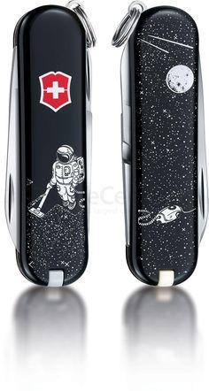 Victorinox Swiss Army Classic SD Limited Edition Collection 2015 Multi-Tool, Space Cleaner