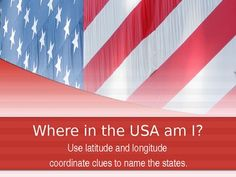 Where In The USA ? Power Point