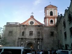 San Agustin Church in Intramuros- established in 1571 by the Agustinian Friars, the building completed in 1589, the oldest church building in the Philippines.  Click here for the church website: http://sanagustinchurch.org/