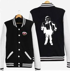 Twin Peaks baseball jacket for men fleece Dale Cooper sweatshirt xxxl