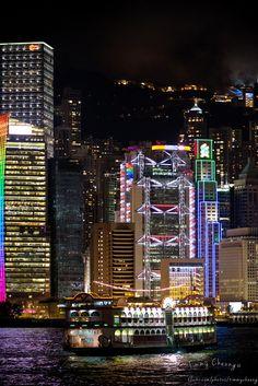 Tsim Sha Tsui Skyline, Kowloon