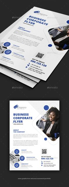 Buy Multipurpose Flyer by ucasamaris on GraphicRiver. Features: 1 PSD Files Easy Customizable and Editable Size with bleed CMYK Color Design in 300 DPI Resolution Print. Corporate Flyer, Corporate Business, Hair Salon Logos, Business Flyer Templates, Graphic Design Print, Photoshop Cs5, Editorial Design, Presentation, Advertising Agency