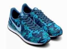 Nike Internationalist Gpx Space Blue/Cerulean/Black Jade Running Mens Shoe 8.5 #Nike