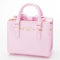 Samantha Thavasa Vega❤2WAY Box Bow Bag S Handbag Cute Kawaii❤JAPAN #SamanthaVega #ShoulderBag
