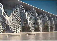 Sculptural Brise Soleil