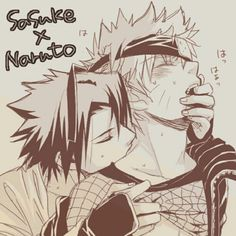 Yaoi is the only reason why I betray my OTP.{SasuNaru}