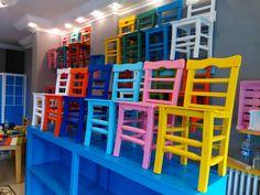 renkli sandalye , Doğal ağaç ve organik boya ile üretilmiş , renk renk sandalye masa ve dekoratif ürünler. İç mekan, Dış mekan Mutfak, Balkon, Bahçe, Cafe, Restaurant ve Otellerde Rahatlıkla kullanılabilecek son derece dayanıklı ürünlerdir. renk , renkrenk sandalye , renk renk sandalye , renkli sandalye , renkli masa , ahşap sandalye , ahşap masa , tahta , nostaljik , sandalye , rengarenk , mobilya ahşap , telli sandalye , ağaç sandalye , eski sandalye , doğal sandalye , yazlık sinema…
