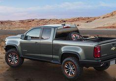 Chevrolet Previews New Colorado Concept