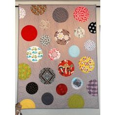 simply circles quilt pattern