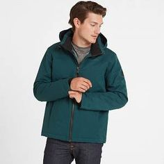 Cawood Mens Winter Jacket - Forest - S Yorkshire Rose, Thermal Jacket, Ski Holidays, Thermal Insulation, Green Jacket, Back Home, Zip Ups, Winter Jackets, Hoodies