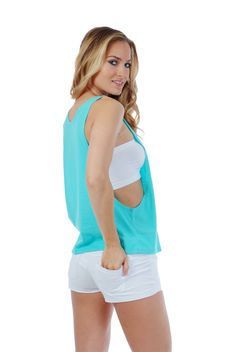 One of our favorite and most popular tank tops. Our open sides tank is great for layering, great for the gym or to hang out. The soft combed cotton and polyester blend adds a soft to the touch with a very light feel. You might just forget you have this tank top on.  #miamistyle #opensides #tanktop