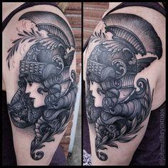 Athena // John Embry.Tattoo Charlie's. Louisville, Ky - Imgur