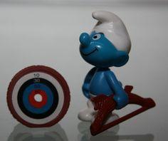 Schlumpf Schlümpfe Smurf schtroumpf Figur Aussuchen Edeka Heijn Ü EI Ferrero | eBay