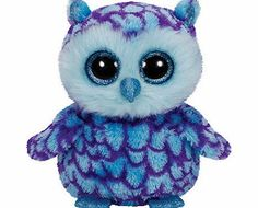 94cf1069089 TY Beanie Boo Plush - Oscar the Owl Beanie Boos are They are made from Ty s  best selling fabric - Ty Silk
