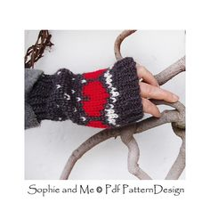 Ravelry: Snow Heart Mittens pattern by Sophie and Me-Ingunn Santini