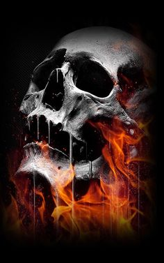 sKULL ART 3D - Google Search                                                                                                                                                                                 More