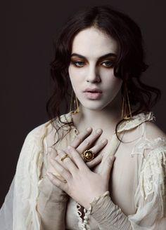 Alex Sainsbury for Dominic Jones • Dark Beauty Magazine