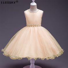 Check current price Cute Baby Girls Evening Dress Kids Sequins Lace Princess Dresses Toddler Wedding ClothesChildren 1 year Baptism Costume Vestido  just only $11.89 - 15.21 with free shipping worldwide  #girlsclothing Plese click on picture to see our special price for you