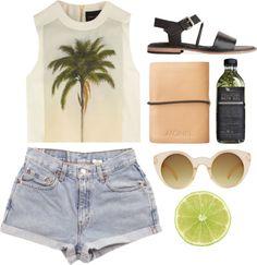 Summer holidays just like the shirt