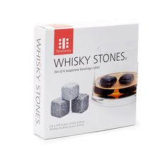Set of 6 Whiskey Stones design by Teroforma