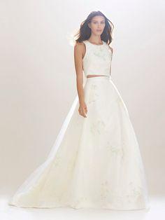 Our Favorite Fall 2016 Wedding Dresses from Bridal Fashion Week | InStyle.com Carolina Herrrera