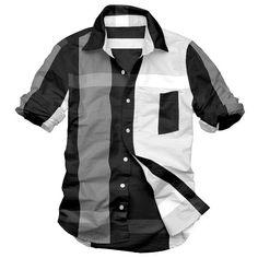 Mens Casual Fashion | shirts dress men casual clothing mens button shirts, View casual ...