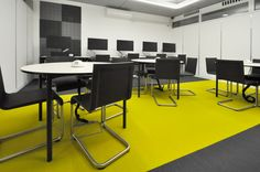 University of Nottingham - School of Computer Science Labs: Vitra .03 chairs with Vitra Map tabes