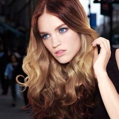 The hottest new hair color trend #Splashlights #ombre2.0 #redkennewzealand
