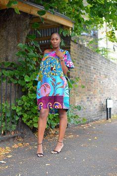 b131efd4ee9 African print tunic dress Ankara Jumpsuit, African Print Fashion, Fashion  Prints, Dashiki,
