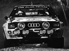 ra Stig Blomqvist - Björn Cederberg-14º Rally of Nueva Zelanda 1984. Audi Quattro A2. Clasificado 1º.