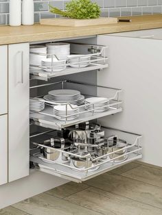 Individual + Pull-Out + Plus + - + To + Suit + + Wide + Base + Unit, + Supplie . - Individual + Pull-Out + Plus + - + To + Suit + + Wide + Base + Unit, + Supplie . Kitchen Pantry Design, Diy Kitchen Storage, Modern Kitchen Design, Home Decor Kitchen, Interior Design Kitchen, Home Kitchens, Kitchen Pull Out Drawers, Kitchen Ideas, Kitchen Furniture