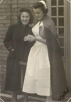 1938 Nursing School ~ Vintage Photograph