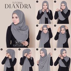 This a simple beautiful hijab tutorial with folds it doesnt look voluminous and . This a simple beautiful hijab tutorial with folds it doesnt look voluminous and you can create as m Hijab Chic, Hijab Elegante, Stylish Hijab, Modern Hijab, Square Hijab Tutorial, Simple Hijab Tutorial, Hijab Style Tutorial, Pashmina Hijab Tutorial, Turban Tutorial
