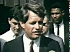 RFK Discussing How Deep the Problem of Poverty Is