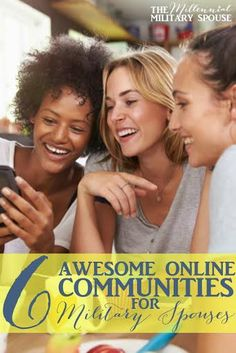 Online communities for different types of military spouses, pinning and checking these out!